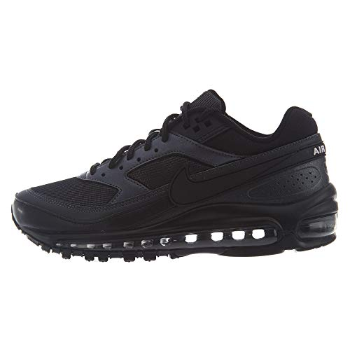 Nike Air MAX 97/BW Hombre Running Trainers AO2406 Sneakers Zapatos (UK 8 US 9 EU 42.5, Black Metallic Hematite 001)