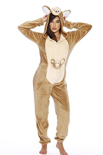 6307-XL Just Love Adult Onesie / Pajamas,Kangaroo,X-Large