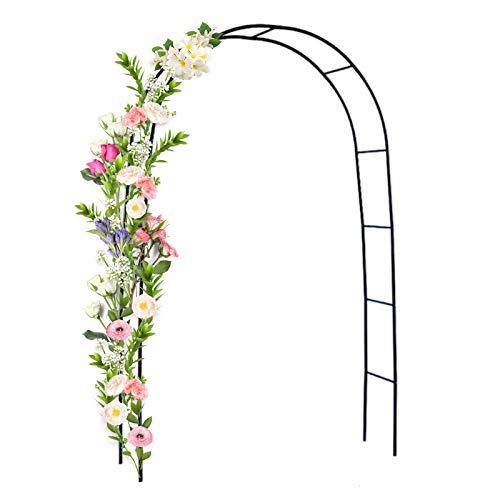 Metall Gartenbogen Rosenbogen Kletterpflanzen Eingangstür Im Freien Hochzeit Torbogen Blumenständer für Gärten Hotels Terrassen Kletterpflanze Patio Rasen Hof