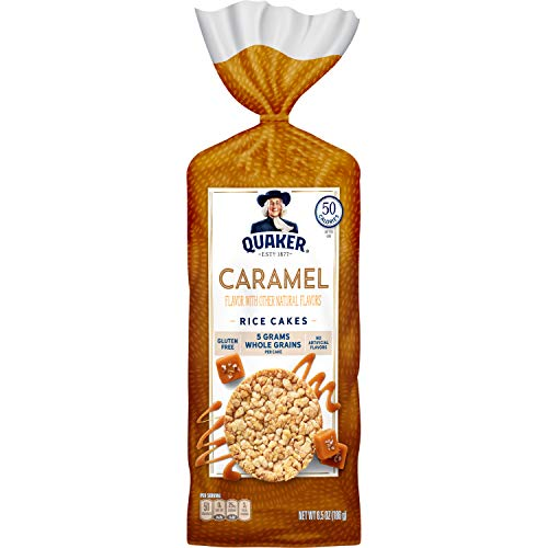 Quaker Rice Cakes, Caramel Corn, 6.56 Ounce