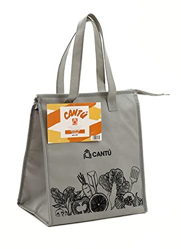Cantú Einkaufstasche mit Kühlfunktion | Kühltasche | 10 l (Grau)