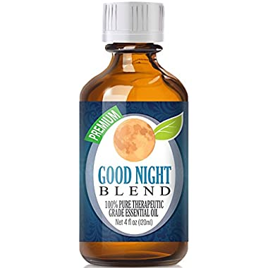 Best Good Sleep Blend Oil - 100% Pure Good Night Blend Essential Oil - 120ml