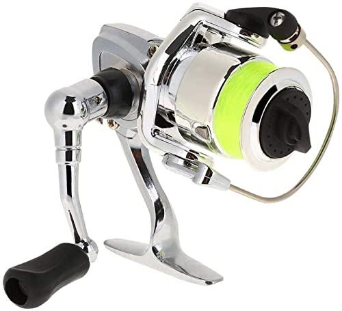 MCE Carrete de Pesca Rueda de Pesca de fundición metálica Metálico Spinning Carrete de Pesca Práctico for Accesorios de Tackle