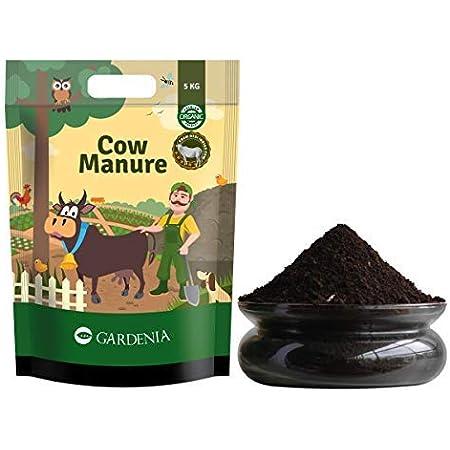 Ugaoo Organic Cow Manure Fertilizer for Home Garden Plants - 5 Kg