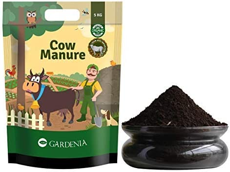 Ugaoo Organic Cow Manure Fertilizer for Home Garden Plants - 5 Kg