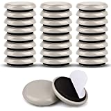 Furniture Sliders for Carpet & Hardwood Floors,24PCS 1-1/4'Furniture Pads for Quickly and Easily Move Any Item and Protect The Floor