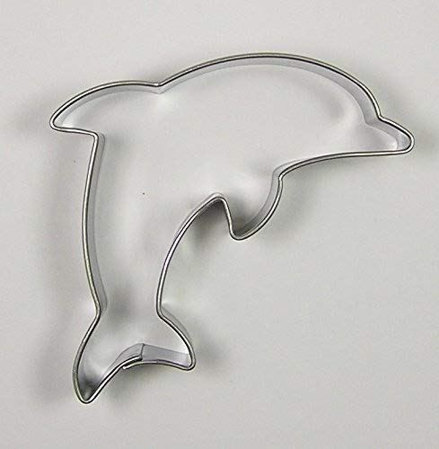Krifka - Molde para galletas con forma de delfín (7cm), de acero in