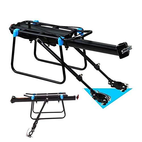 Piore MTB Bike Bagagedrager Aluminium Fiets Cargo Racks voor 20 29 inch Plank Fietsen Zadelpen Bag Holder Stand Rack, Semi
