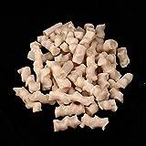 Weikeya Frijol biológico NP degradable, Estuche de Filtro Alimento de Coral 1 Bolsa Betta Betta Tanque de Pescado Polímero Plástico
