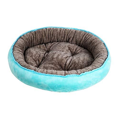 Yowablo Hundematte Hundedecke Haustierdecke Katzendecke Hundkissen Kuscheldecke Hunde Hundematratze Haustierdecke Hund Schlafmatte Katze Schlafmatte Katze Decken (40 * 30cm,Blau)
