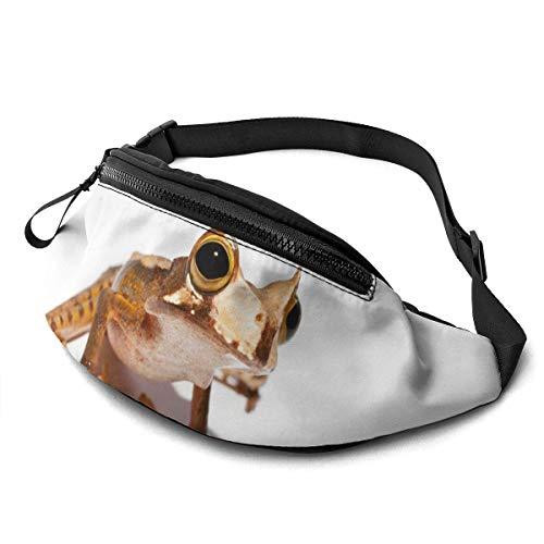 XCNGG Bolso de la Cintura del Ocio Bolso Que acampa Bolso del montañismo Waist Pack Bag for Men&Women, Wolf Utility Hip Pack Bag with Adjustable Strap for Workout Traveling Casual Running