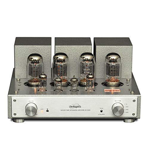 Amplificador de Tubo LM-216IA Integrado KT88 * 4 / EL34 * 4 12AX7 Amplificador de Tubo Push-Pull 38W + 38W Calidad de Fiebre