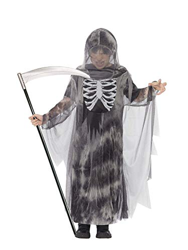 Smiffys - Disfraz Infantil de segador Fantasma para Halloween (44303M)