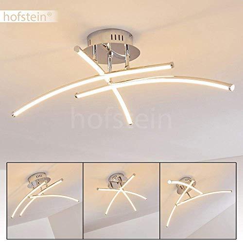 Plafoniera LED Orillia - Lampada da Soffitto Design Moderno - Barre LED mobili - Illuminazione LED per Soffitto Elegante ed Efficiente - 1500 Lumen totali