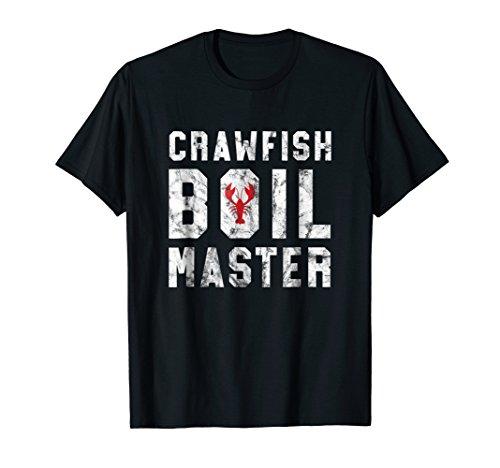 Crawfish Boil Master Cajun Crawfish Boil Gift Shirt - W