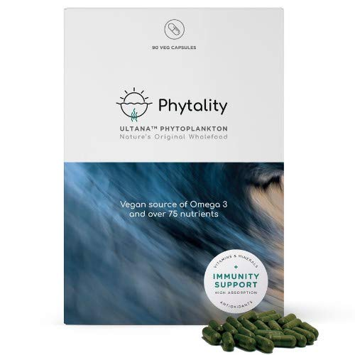 ULTANA Phytoplankton   Phytality   90 x Veg Capsules