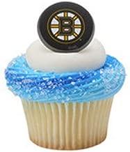 Boston Bruins Cupcake Rings 12 Count