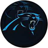 Creative Converting 8 Count Carolina Panthers Paper Dinner Plates -