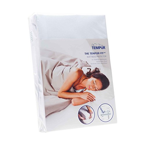 Tempur-Fit Mattress Protector (Singles up to 90cm x 200cm) – Breathable, Water Resistant and Dust Mite Resistant