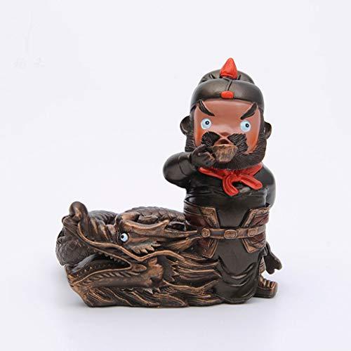 CKH Chinese stijl creatieve romantiek van de drie koninkrijken karakters asbak retro persoonlijkheid trend home woonkamer salontafel decoraties kleine ornamenten B