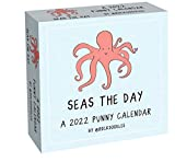 A 2022 Punny Day-to-Day Calendar by @rockdoodles: Seas the Day