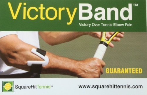 SquareHit Tennis VictoryBand Elbow Support Strap