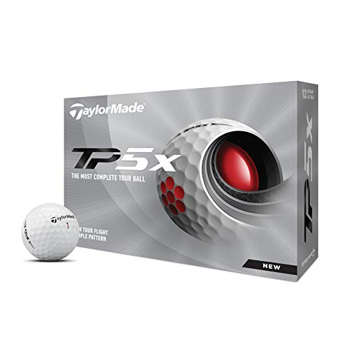TaylorMade 2021 TP5x 2.0 Golf Balls White