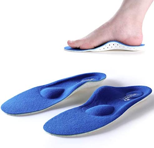 Walkomfy Plantar Fasciitis Pain Relief Orthotics Flat Feet Arch Support Insoles Shoe Inserts product image