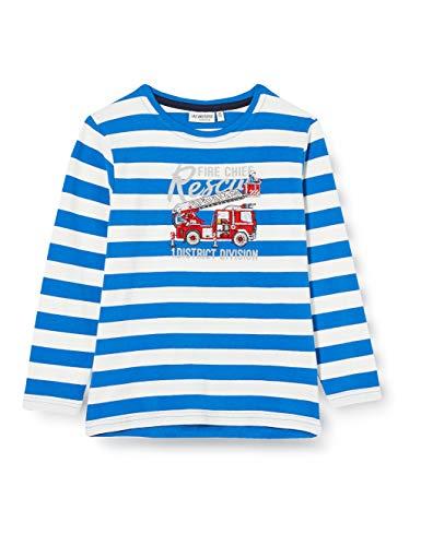 Salt & Pepper Jungen 05111134 Hemd, Bright Blue, 104/110