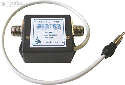 BANTEN - Duplexer für UKW-Seefunk und Autoradio