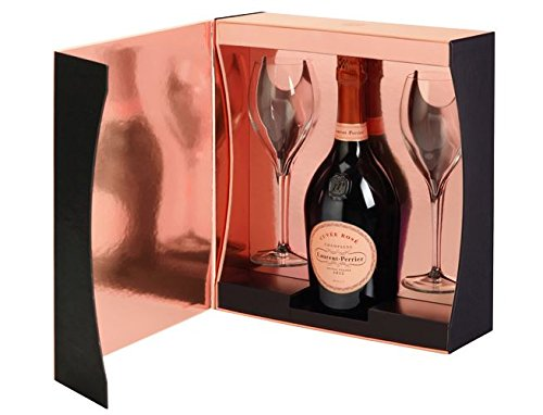 Laurent-Perrier Rose Champagne / 2 Glass Gift Pack / 75cl