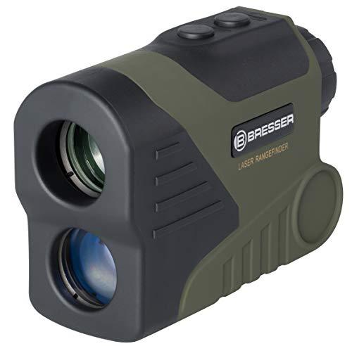 Bresser 4025880 Rangefinder Entfernungs und Speedmesser WP/OLED 6x24, 800m grün
