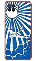 [OPPO A73 CPH2099/楽天モバイル専用] Coverfull スマートフォンケース SAPエアプレインシリーズ F-86Fブルーインパルス 白旭日 (クリア) ROPA73-PCCL-152-MAW1