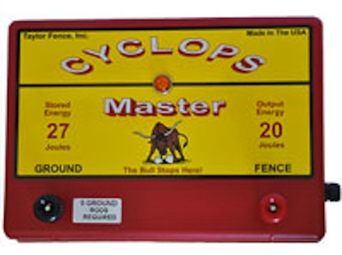Cyclops Master - 20 Joule Fence Charger - AC