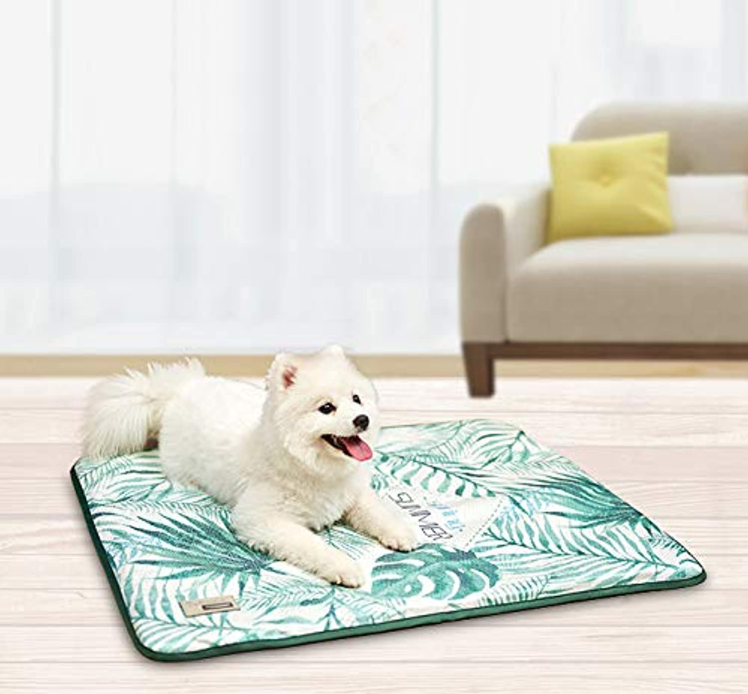 Dog Cooling Bed Pet Pad Non Sticking 2019 New Self Cool Summer Fast Heat Dissipation Continuously Cool for Kennels Crates and Beds Comfortable Cool Stuff
