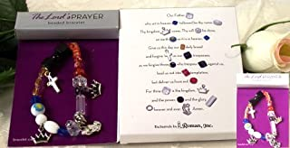 Roman Inc. Lord's Prayer (The) Bracelet - Large - 7-7 1/2