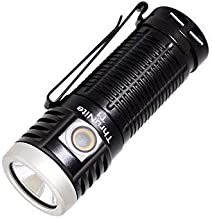 ThruNite T1 Magnetic Tailcap Handheld Flashlights, USB Rechargeable EDC Flashlight, Stepless Dimming 1500 Lumens Pocket To...