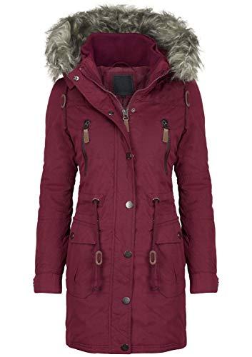 Zabaione Damen Winterjacke, Größe:S, Farbe:Bordeaux