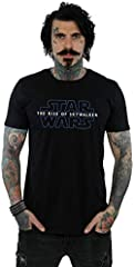 Star Wars Hombre The Rise of Skywalker Logo Camiseta