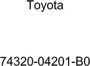 TOYOTA Genuine 74320-04201-B0 Visor Assembly