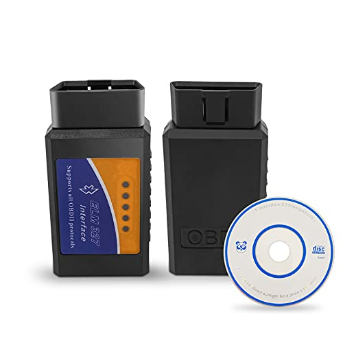 OBD2 Bluetooth Auto Scanner OBD II Strumento di scansione diagnostica per Android Windows Bluetooth 2.1 Lettore di codice luce motore di controllo auto Supporta veicolo di coppia