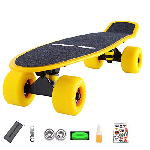 Daxiong Board Skateboard Banana Board Erwachsene Kinder Allrad Roller Anfänger Road Brush Street Jugend Board,4