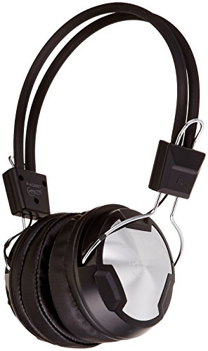 Arctic P402 BT Bluetooth Stereo Over-Ear Headphones, Integrated Mic, A2DP/AVRCP, 30-Hr Playback - Black