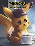 Pikachu Coloring Book: Super Coloring Book for Kids and Fans of All Ages– 50+ GIANT Great Pages with Premium Quality Images.