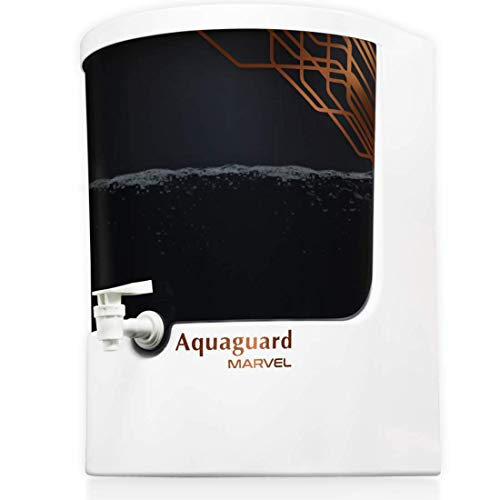 Eureka Forbes Aquaguard Marvel 8L UV e-boiling+Ultrafiltration with Active Copper Water Purifier suitable for Municipal Water (TDS: Up to200) (White & Black)
