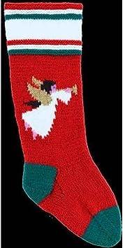 DooLallies Christmas Stocking Kit Angel Green