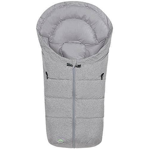 Odenwälder Füßsäckchen Dauni Fashion new moven, Farbe:soft grey