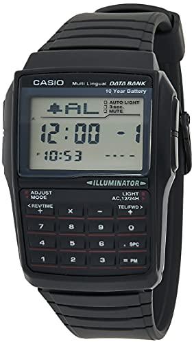 Casio Men's DBC32-1A Data Bank Black...
