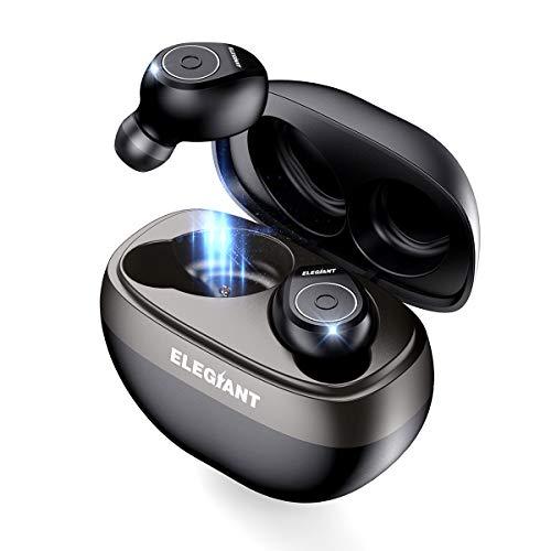 True Wireless Earbuds, ELEGIANT Bluetooth 5.0 TWS Headphones Earbuds with 35H...