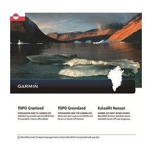 Garmin TOPO Grönland Topographische Vektorkarte, schwarz, Uni